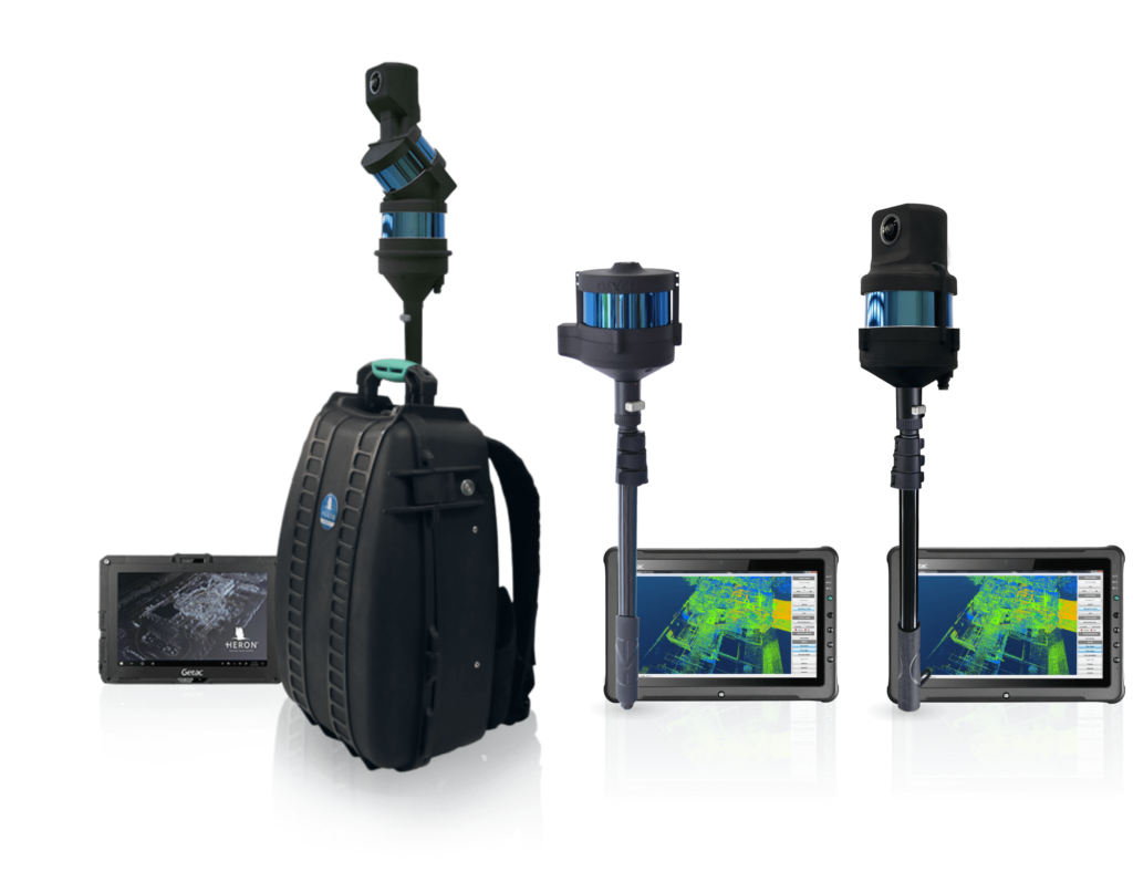 The HERON® family is composed by HERON® LITE, HERON® LITE Color and the latest HERON® MS Twin with double sensor.